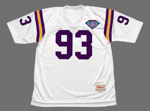 JOHN RANDLE Minnesota Vikings 1994 Throwback Away NFL Football Jersey - FRONT