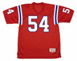 TEDY BRUSCHI New England Patriots 2002 Throwback NFL Football Jersey - FRONT