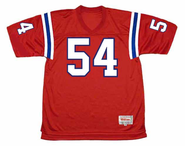 TEDY BRUSCHI New England Patriots 2002 Throwback NFL Football Jersey