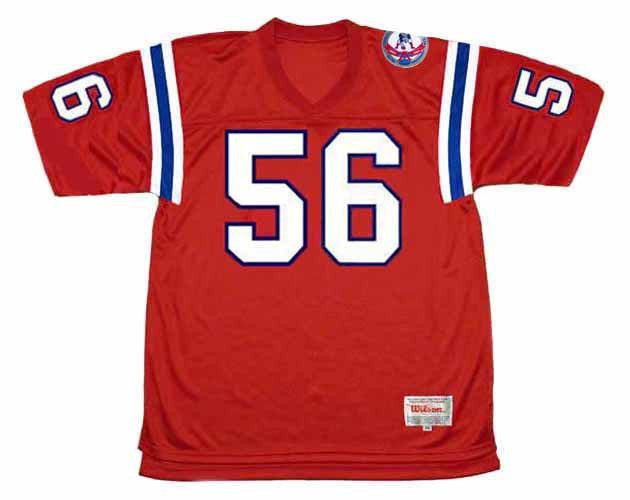 ANDRE TIPPETT New England Patriots 1984 Throwback Home NFL Football Jersey