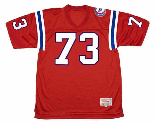 JOHN HANNAH New England Patriots 1984 Throwback Home NFL Football Jersey