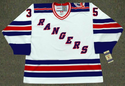 MIKE RICHTER New York Rangers 1994 Home CCM NHL Vintage Throwback Jersey - FRONT