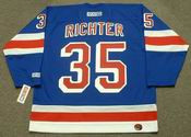 MIKE RICHTER New York Rangers 2003 CCM Throwback Away Hockey Jersey