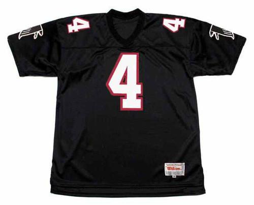 BRETT FAVRE Atlanta Falcons 1991 Home Throwback NFL Football Jersey - FRONT