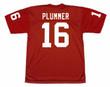 JAKE PLUMMER Arizona Cardinals 1998 Throwback Home NFL Football Jersey - BACK