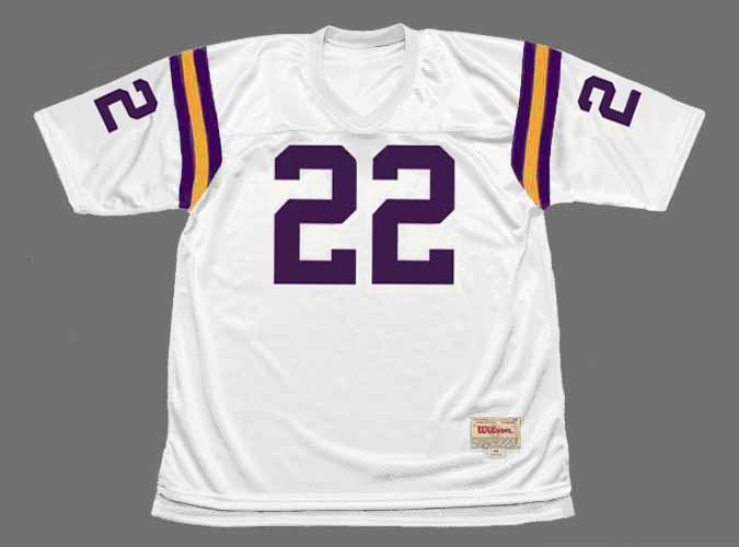 PAUL KRAUSE Minnesota Vikings 1975 Away Throwback NFL Football Jersey