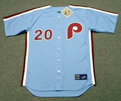 quality design b9558 344b4 MIKE SCHMIDT Philadelphia Phillies 1980 Majestic Cooperstown Throwback Away  Baseball Jersey