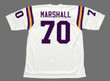 JIM MARSHALL Minnesota Vikings 1975 Away Throwback NFL Football Jersey - BACK
