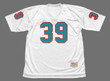 LARRY CSONKA Miami Dolphins 1972 Throwback NFL Football Jersey - FRONT