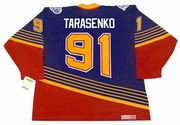VLADIMIR TARASENKO St. Louis Blues 1990's CCM NHL Vintage Throwback Jersey - BACK