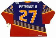 ALEX PIETRANGELO St. Louis Blues 1990's CCM NHL Vintage Throwback Jersey - BACK