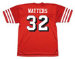 RICKY WATTERS San Francisco 49ers 1994 Throwback Home NFL Football Jersey - BACK