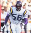 CHRIS DOLEMAN Minnesota Vikings 1990 Away Throwback NFL Football Jersey - ACTION