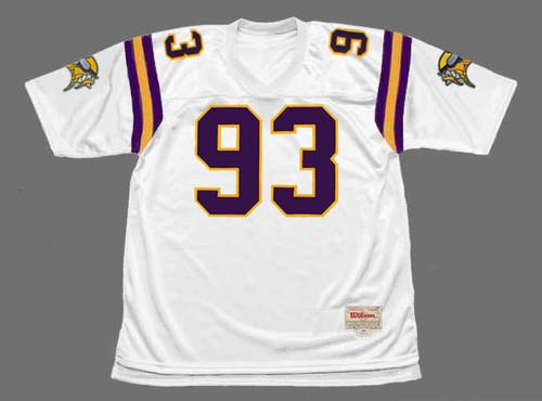 JOHN RANDLE Minnesota Vikings 1998 Away Throwback NFL Football Jersey - FRONT