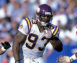 JOHN RANDLE Minnesota Vikings 1998 Away Throwback NFL Football Jersey - ACTION