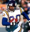 CRIS CARTER Minnesota Vikings 1998 Away Throwback NFL Football Jersey - ACTION