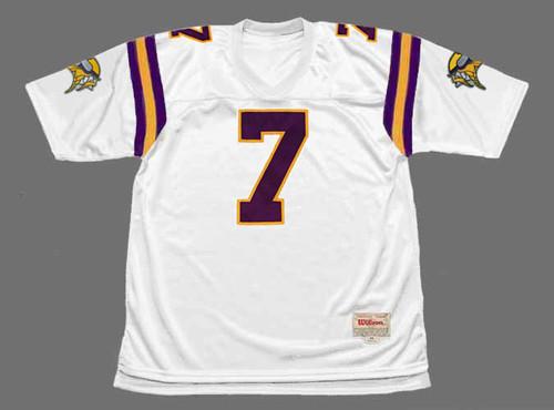 RANDALL CUNNINGHAM Minnesota Vikings 1998 Away Throwback NFL Football Jersey - FRONT