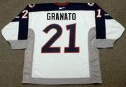 CAMMI GRANATO 1998 USA Nike Olympic Throwback Hockey Jersey - BACK