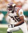 JAKE REED Minnesota Vikings 1996 Away Throwback NFL Football Jersey - ACTION