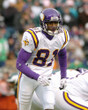 NATE BURLESON Minnesota Vikings 2004 Away Throwback NFL Football Jersey - ACTION