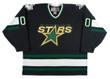 Customized 1990's Away CCM Dallas Stars Hockey Jersey - FRONT