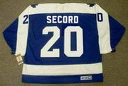 AL SECORD Toronto Maple Leafs 1987 Away CCM Vintage Throwback Hockey Jersey - BACK