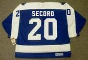 AL SECORD Toronto Maple Leafs 1987 Away CCM Vintage Throwback Hockey Jersey - BACK
