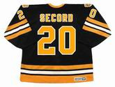 AL SECORD Boston Bruins 1979 Away CCM Vintage Throwback Hockey Jersey - BACK