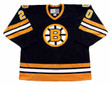 AL SECORD Boston Bruins 1979 Away CCM Vintage Throwback Hockey Jersey - FRONT