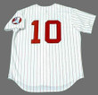 ALEXEI RAMIREZ Chicago White Sox 1970's Majestic Throwback Baseball Jersey - BACK