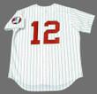 AJ PIERZYNSKI Chicago White Sox 1970's Majestic Throwback Baseball Jersey - BACK