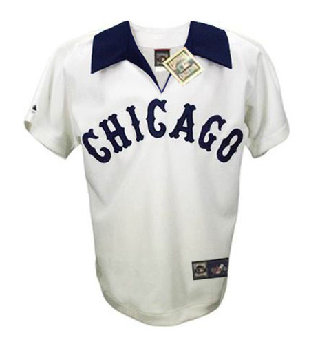 CARLTON FISK Chicago White Sox 1981 Home Majestic Throwback Baseball Jersey - FRONT