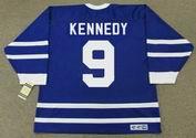 TED KENNEDY Toronto Maple Leafs 1956 CCM Vintage Throwback NHL Hockey Jersey - BACK