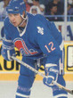 CHRIS SIMON Quebec Nordiques 1993 Away CCM Throwback NHL Hockey Jersey - ACTION