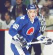JOE SAKIC Quebec Nordiques 1988 Away CCM Throwback NHL Hockey Jersey - ACTION