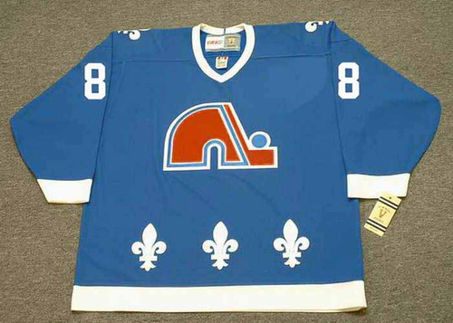 JOE SAKIC Quebec Nordiques 1988 Away CCM Throwback NHL Hockey Jersey - FRONT