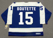 PAT BOUTETTE Toronto Maple Leafs 1978 Away CCM Throwback Hockey Jersey - BACK