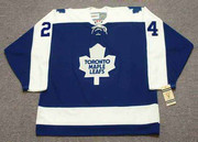 BRIAN GLENNIE Toronto Maple Leafs 1970 CCM Vintage Throwback NHL Hockey Jersey - FRONT