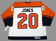 KEITH JONES Philadelphia Flyers 1998 Home CCM Throwback NHL Hockey Jersey - BACK