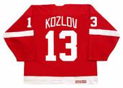 VYACHESLAV KOZLOV Detroit Red Wings 1995 Away CCM Throwback NHL Hockey Jersey - BACK