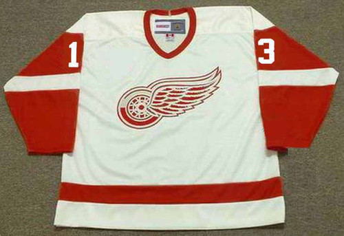PAVEL DATSYUK Detroit Red Wings 2002 Home CCM Throwback NHL Hockey Jersey - FRONT
