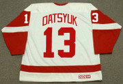 PAVEL DATSYUK Detroit Red Wings 2002 Home CCM Throwback NHL Hockey Jersey - BACK