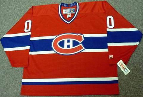... MONTREAL CANADIENS 1980 s CCM Throwback NHL Jersey Customized