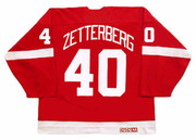 HENRIK ZETTERBERG Detroit Red Wings 2002 Away CCM Throwback NHL Hockey Jersey - BACK