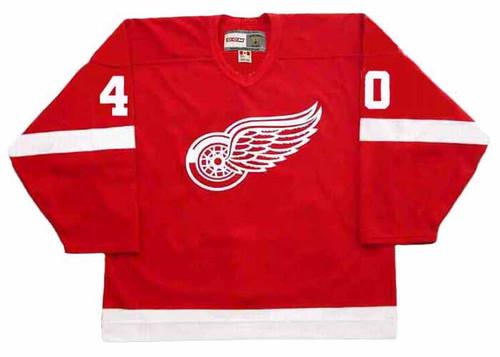 HENRIK ZETTERBERG Detroit Red Wings 2002 Away CCM Throwback NHL Hockey Jersey - FRONT