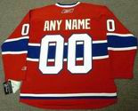 "MONTREAL CANADIENS 2012 Reebok Home Jersey Customized ""Any Name & Number(s)"""