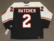 DERIAN HATCHER Philadelphia Flyers 2006 CCM Throwback NHL Hockey Jersey - BACK