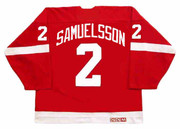 ULF SAMUELSSON Detroit Red Wings 1998 Away CCM Throwback NHL Hockey Jersey - BACK