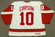 JIMMY CARSON Detroit Red Wings 1990 Home CCM Throwback NHL Hockey Jersey - BACK