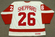 RAY SHEPPARD Detroit Red Wings 1993 Home CCM Throwback NHL Hockey Jersey - BACK